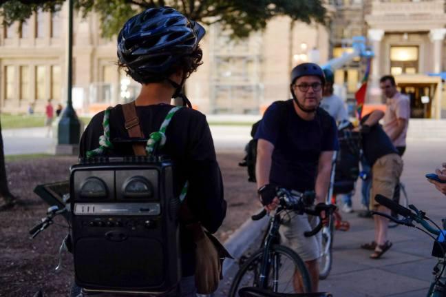 Falling Apart Bike Concert